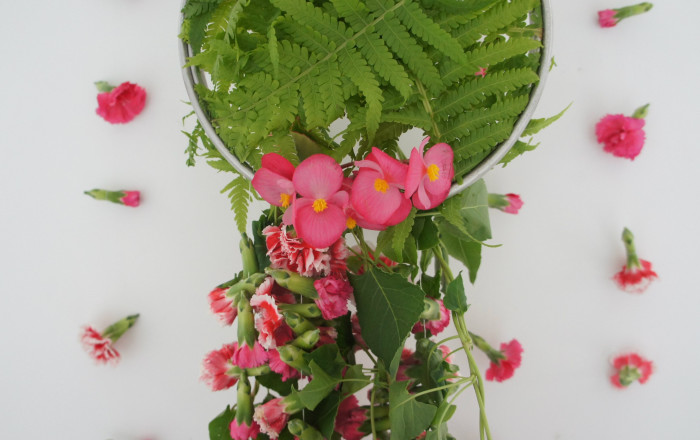 Jak zrobić łapacz snów z kwiatów